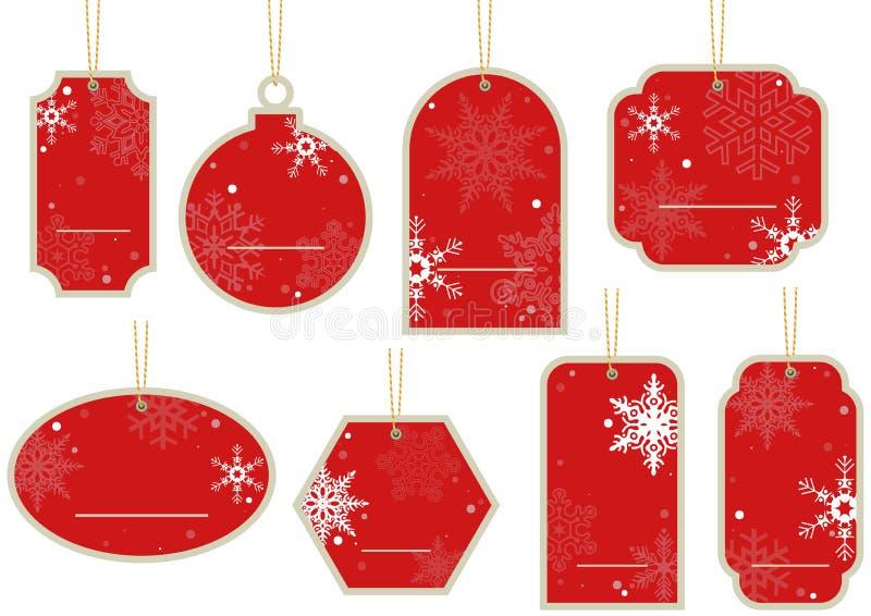 Weihnachts-Preis stock abbildung