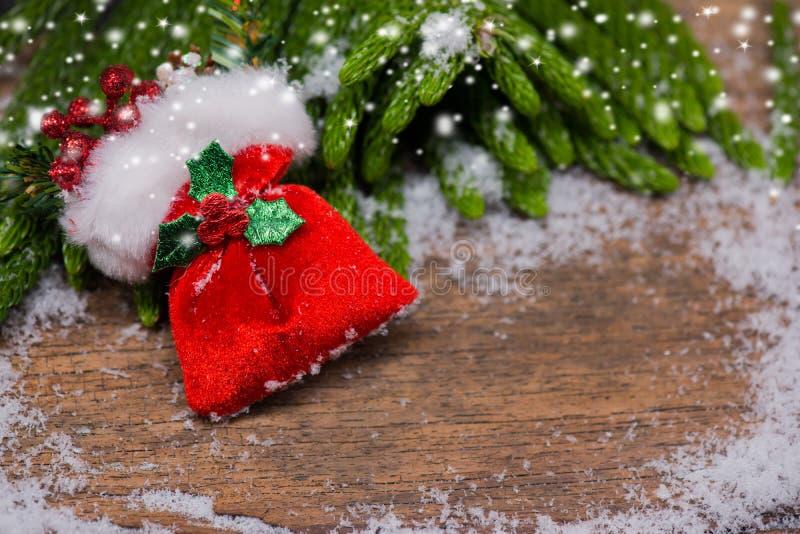 Weihnachts- und des neuen Jahresgeschenk lizenzfreie stockbilder