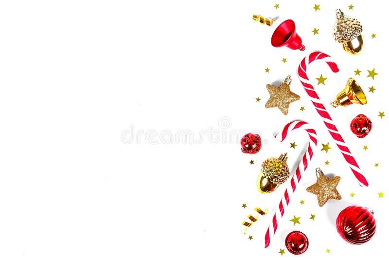 Weihnachts- und des neuen Jahreswinterurlaubjahreszeitkonzept lizenzfreie stockfotografie