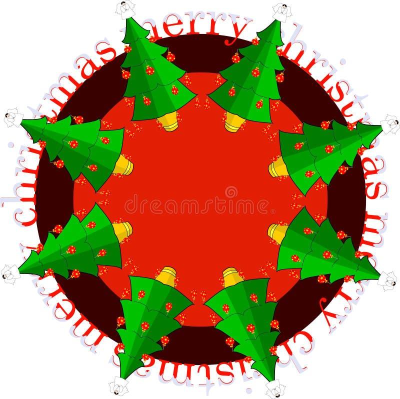 Weihnachtsabbildung vektor abbildung