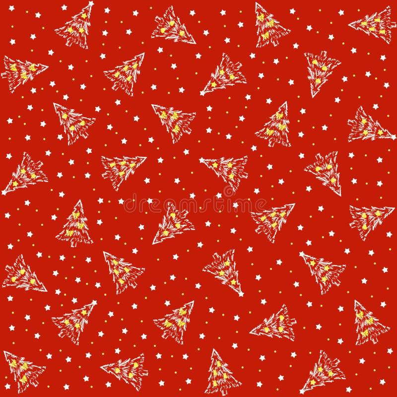 Weihnachtsabdeckung vektor abbildung