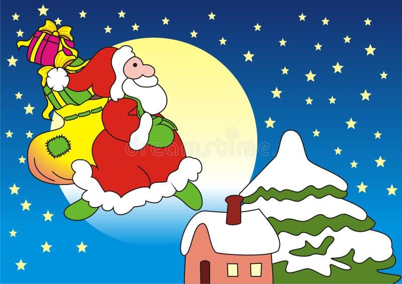 Weihnachtsabend… stockfoto