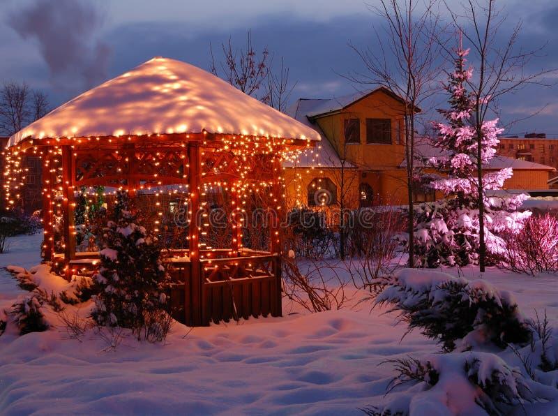 Weihnachtsabend lizenzfreie stockfotografie
