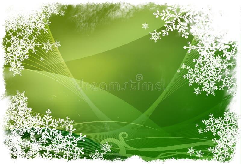 Weihnachtsabstrakter Hintergrund stock abbildung