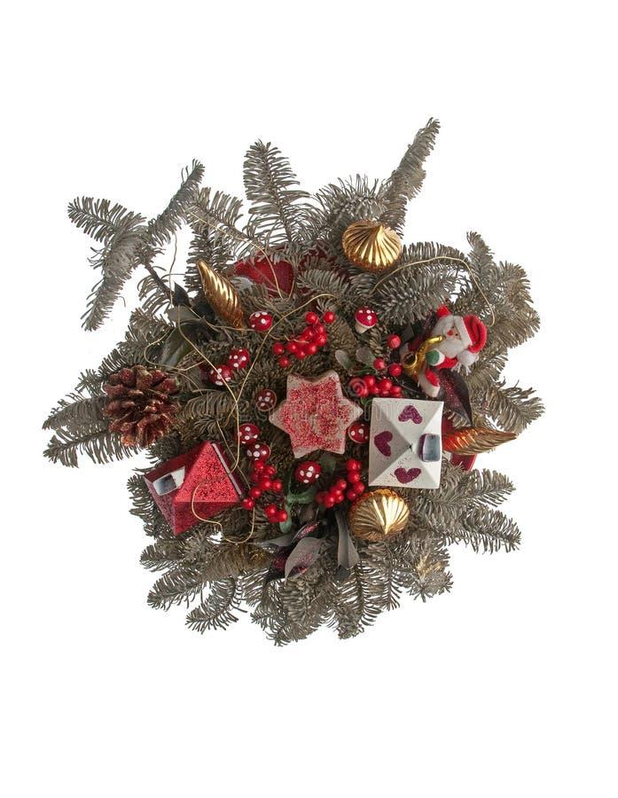 Weihnachtsanordnung lizenzfreie stockbilder
