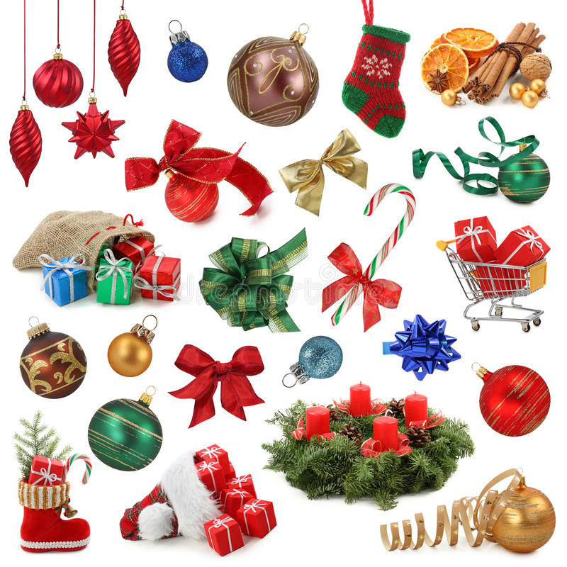Weihnachtsansammlung lizenzfreie stockfotos