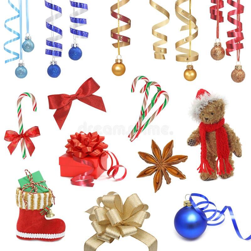 Weihnachtsansammlung stockfotografie