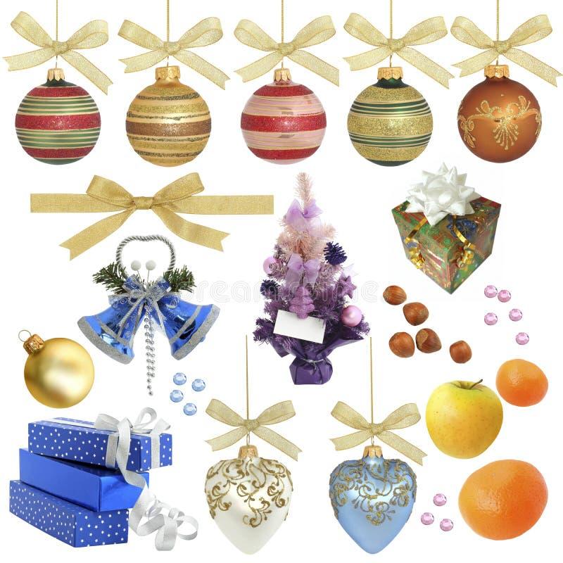 Weihnachtsansammlung/getrennte Nachrichten lizenzfreies stockfoto