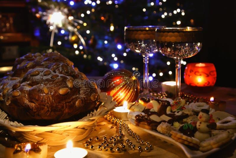 Weihnachtsatmosphäre stockbild