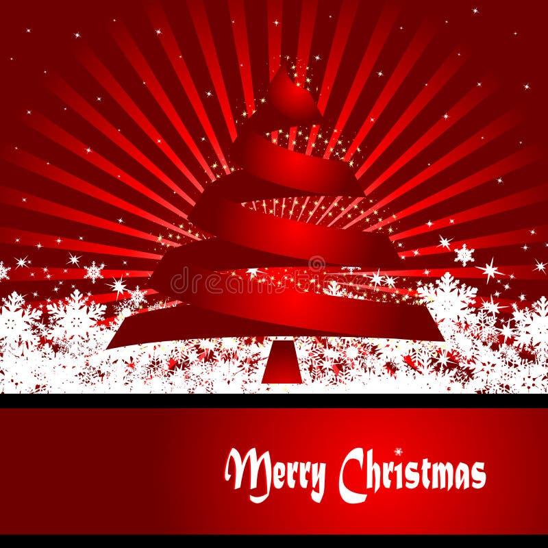 Weihnachtsauslegung lizenzfreie abbildung
