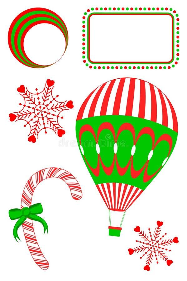 Weihnachtsauszüge vektor abbildung