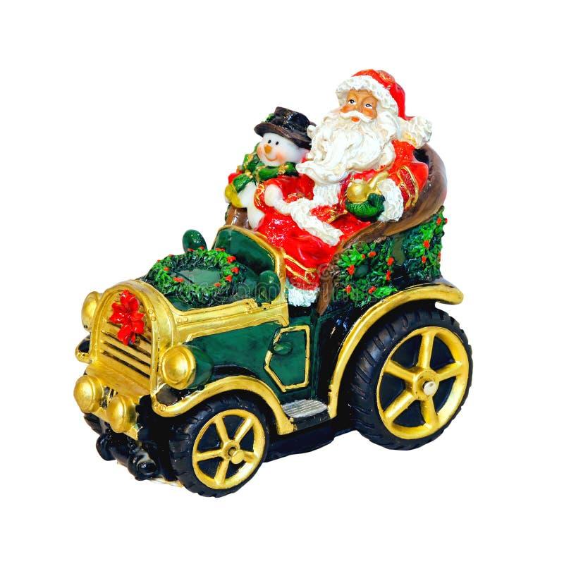 Weihnachtsauto lizenzfreie stockfotografie