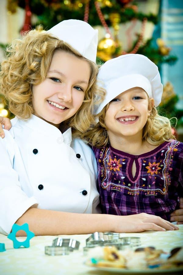Weihnachtsbäckerei lizenzfreie stockfotos