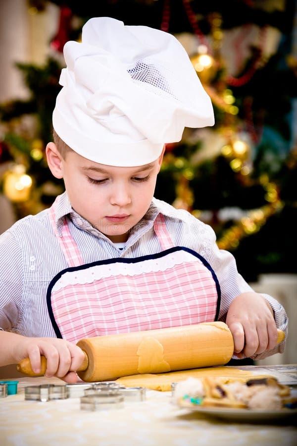 Weihnachtsbäckerei stockfotos
