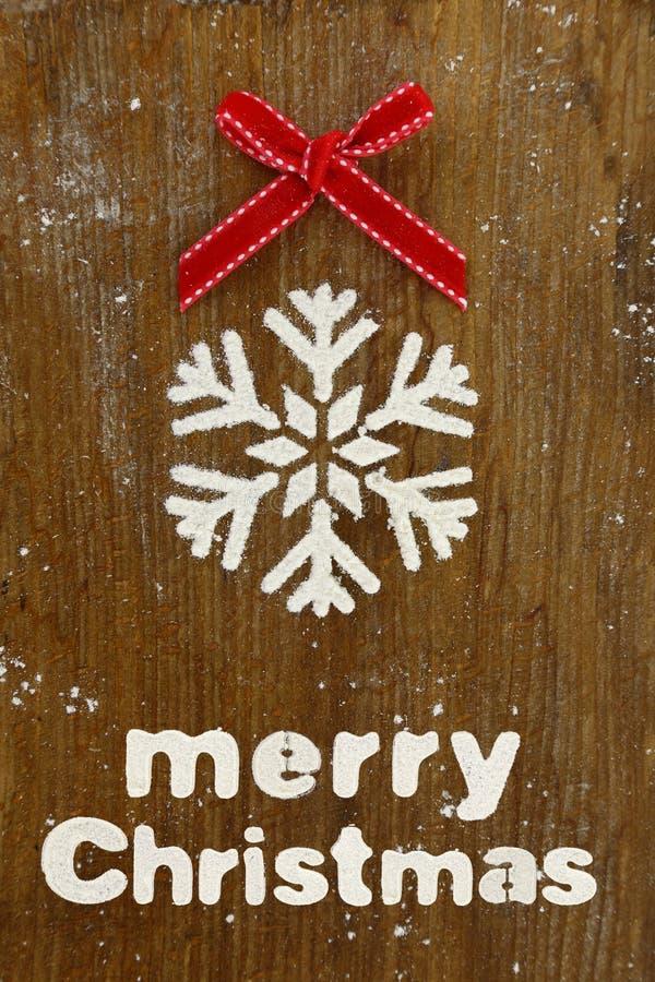 Weihnachtsbäckereihintergrund stockfoto