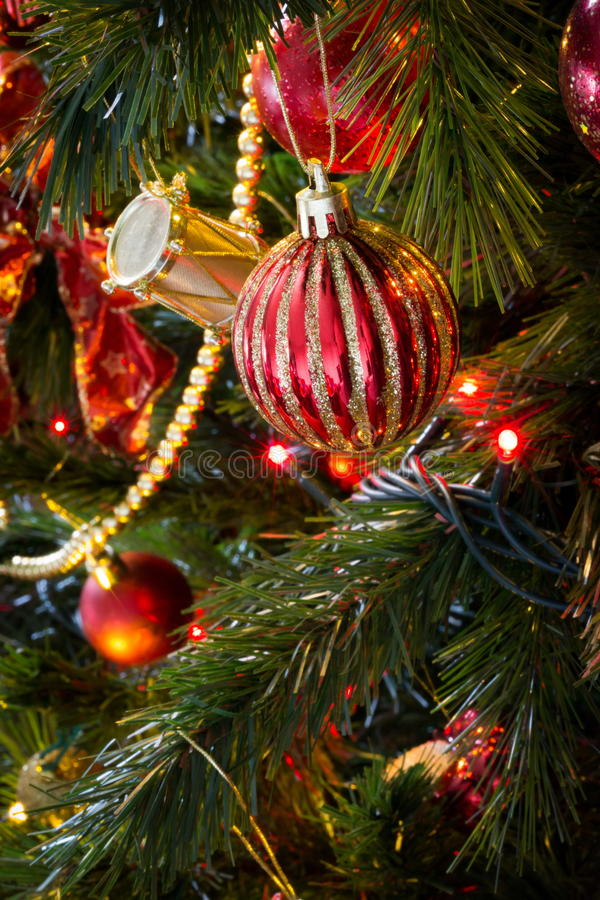 Weihnachtsbälle stockfotografie