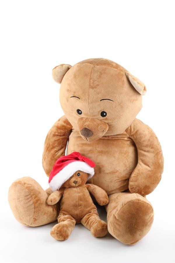 Weihnachtsbär stockbild