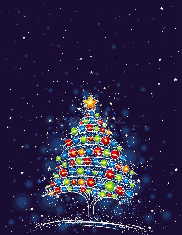 Weihnachtsbaum,   stock abbildung