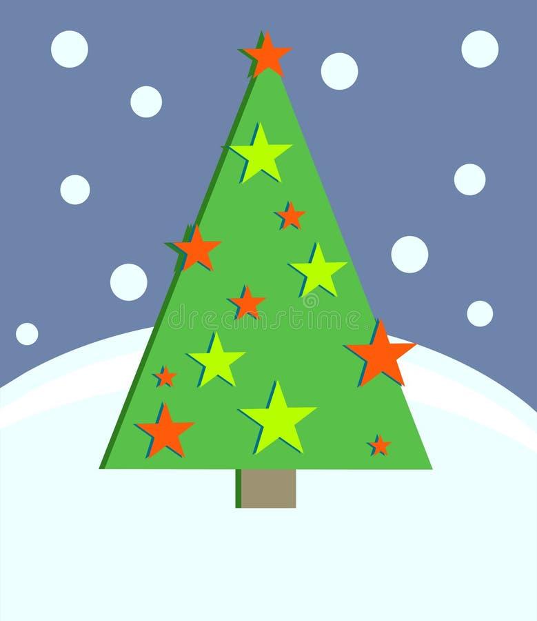 Download Weihnachtsbaum vektor abbildung. Illustration von gelegenheiten - 43438
