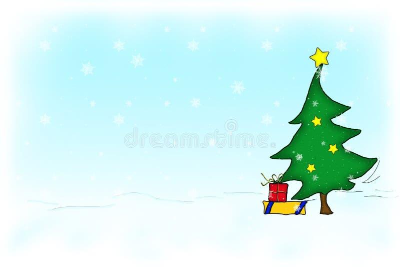 Weihnachtsbaum Kostenlose Stockfotografie
