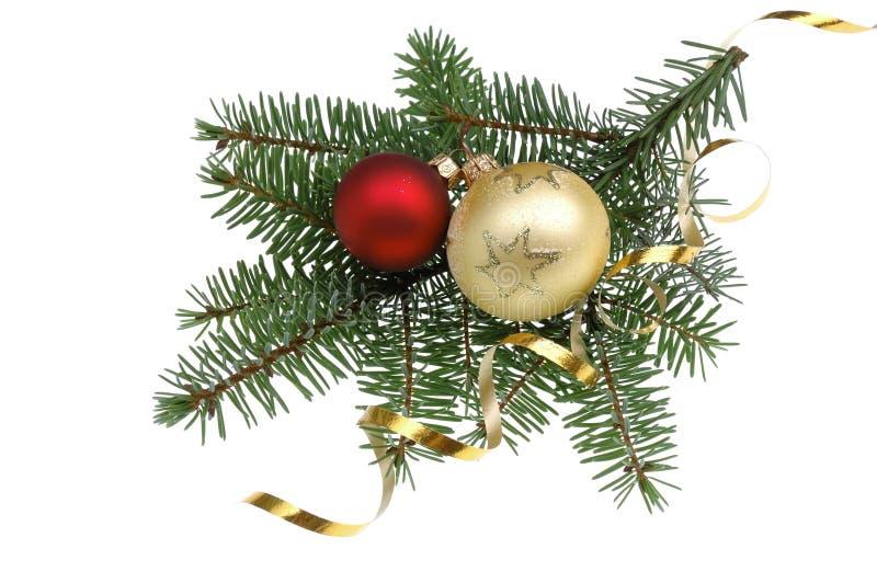 Weihnachtsbaum dekoration stockbilder