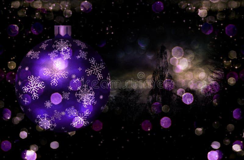 Weihnachtsbaum-Kugel-Abbildung vektor abbildung