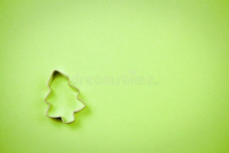 Weihnachtsbaum-Plätzchenscherblock lizenzfreie stockfotografie