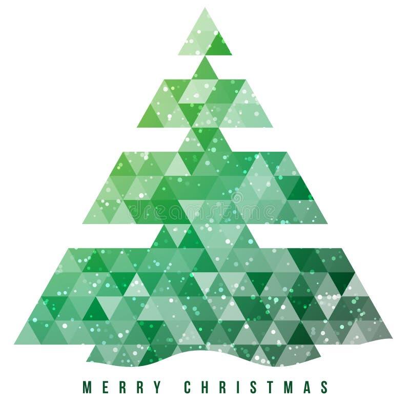 Download Weihnachtsbaum Und Dekorationshintergrund. Vektor Abbildung - Illustration von fröhlich, weihnachten: 27725411