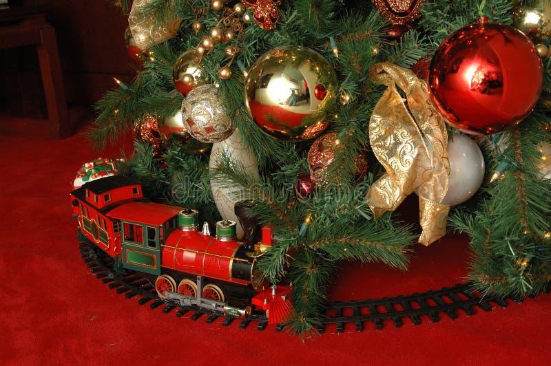 Weihnachtsbaum und Serie stockfotos