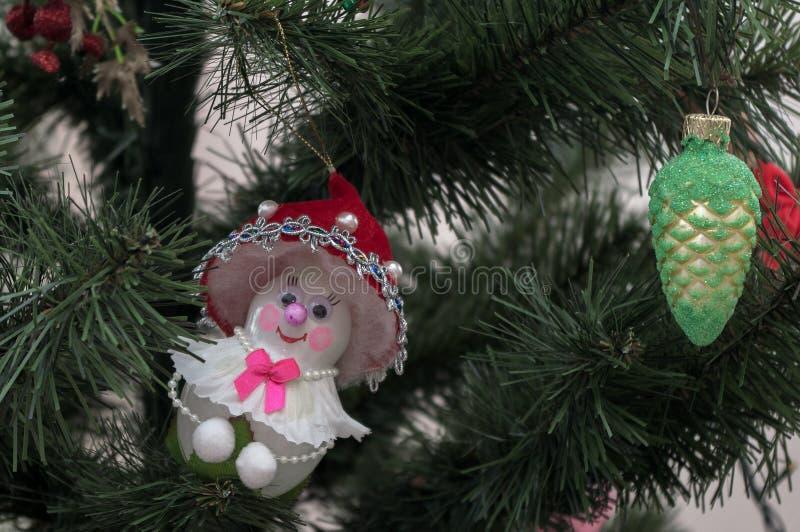 Weihnachtsbaum Weihnachtsspielzeug stockfotos