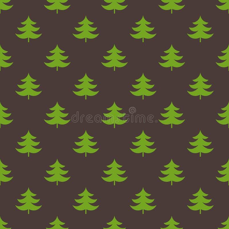 Weihnachtsbaumbeschaffenheit vektor abbildung