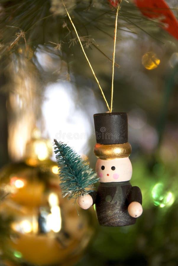 Weihnachtsbaumdekorationen stockbild
