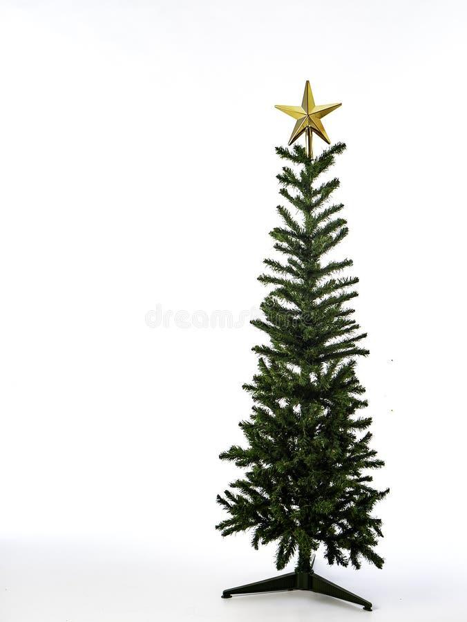 Weihnachtsbaumdekorationen auf einem weißen Hintergrund Nahaufnahme lizenzfreie stockfotografie