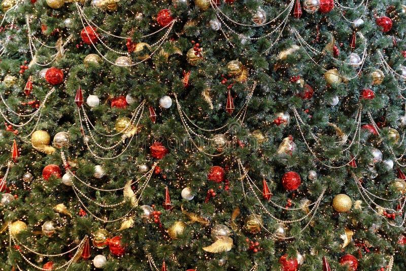Weihnachtsbaumhintergrund lizenzfreie stockfotos