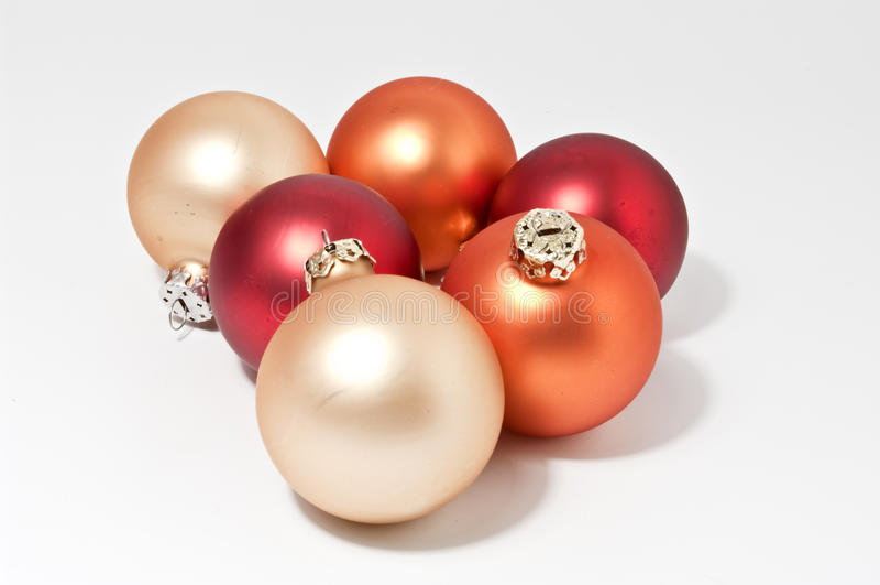 Weihnachtsbaumkugeln lizenzfreie stockfotografie