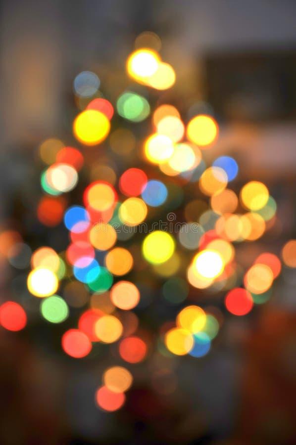 Weihnachtsbaumleuchten lizenzfreies stockfoto