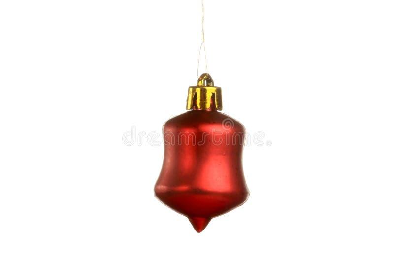 Weihnachtsbaumschmuck, Ball, Dekorationen Lokalisierter weißer Hintergrund lizenzfreie stockfotos