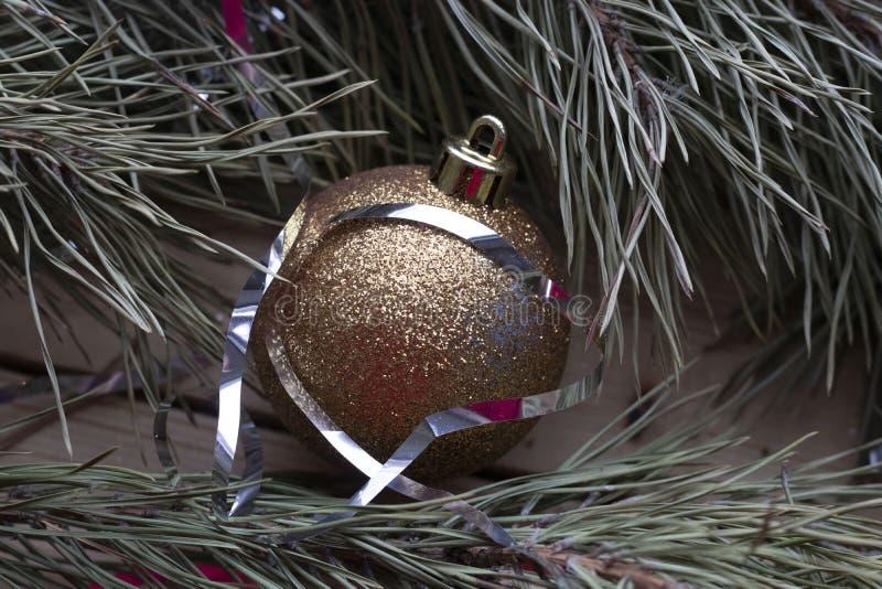 Weihnachtsbaumspielzeug stockbild