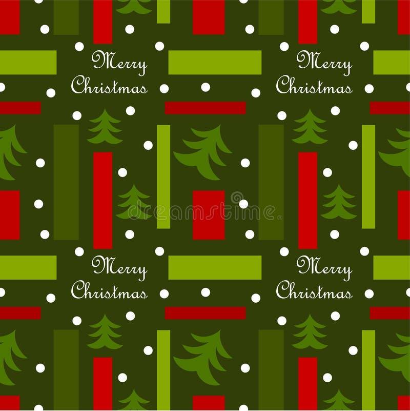 Weihnachtsbeschaffenheit stock abbildung