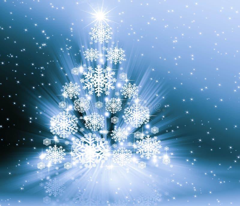 Weihnachtsblaubaum lizenzfreie abbildung