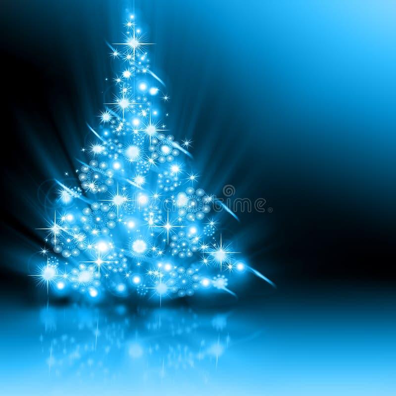 Weihnachtsblaubaum vektor abbildung
