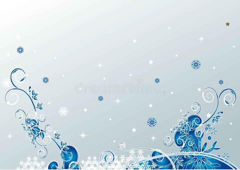 Weihnachtsblumenhintergrund vektor abbildung