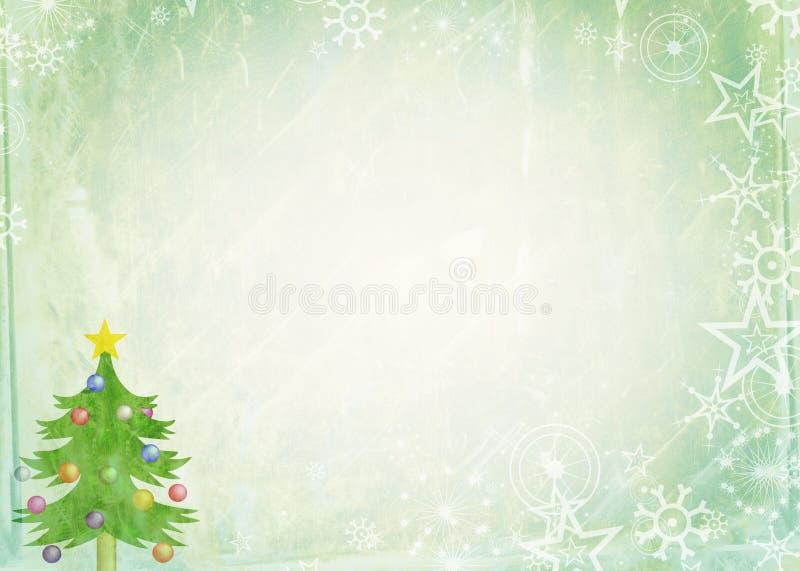 Weihnachtsbriefpapier lizenzfreie abbildung