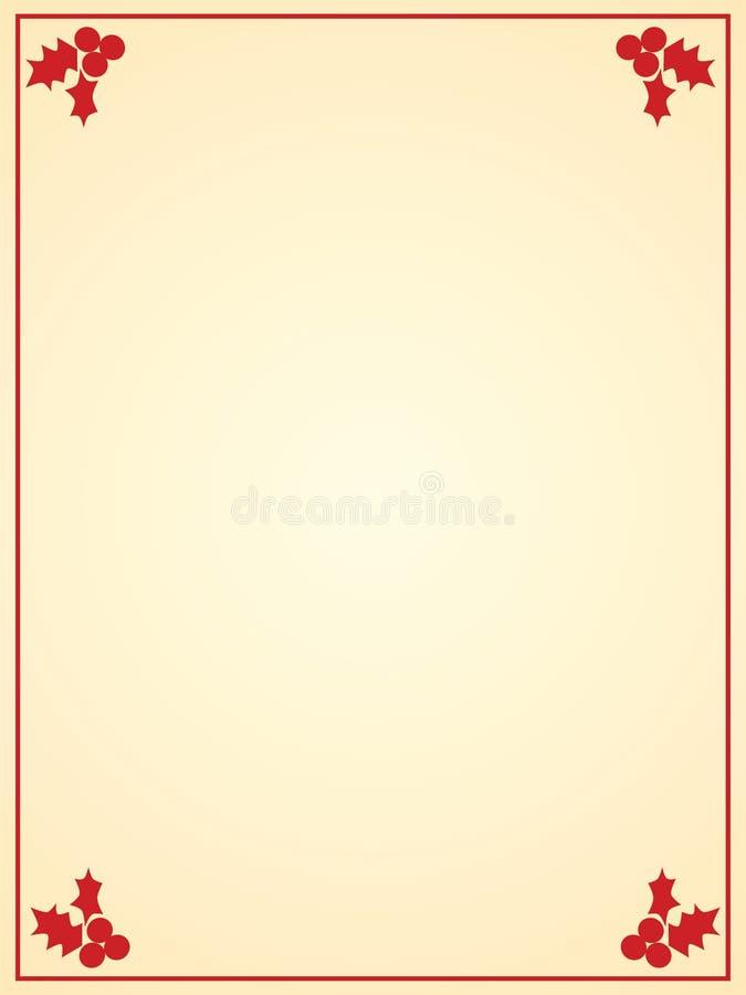 weihnachtsbriefpapier lizenzfreies stockfoto bild 6557035. Black Bedroom Furniture Sets. Home Design Ideas