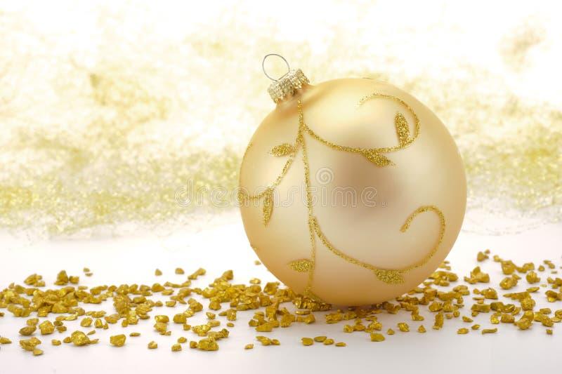 Download Weihnachtsdekoration stockbild. Bild von feier, golden - 27726623