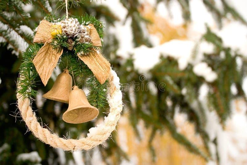 Download Weihnachtsdekoration stockfoto. Bild von snowing, vorabend - 43788