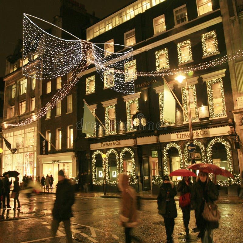 Download Weihnachtsdekoration In London Redaktionelles Stockfoto - Bild von großbritannien, straße: 27729468