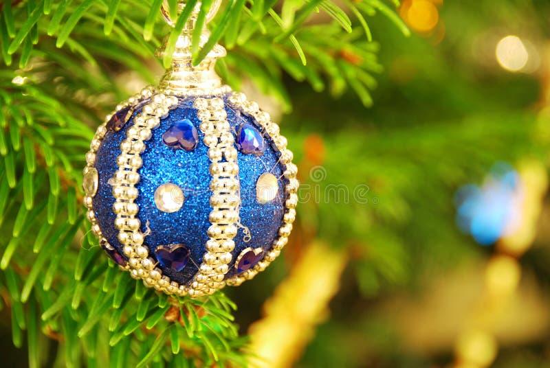 Weihnachtsdekoration und -baum stockfotos