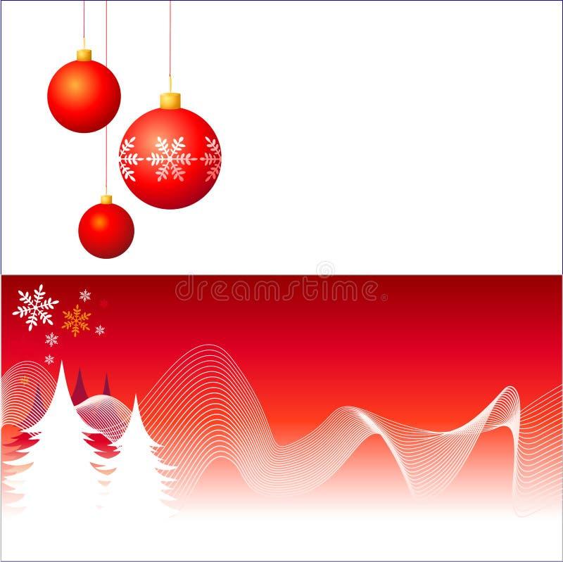 Weihnachtsdekorationen vektor abbildung