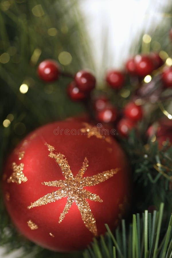 Weihnachtsdekorationen. lizenzfreie stockfotografie